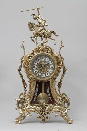 Часы каминные с маятником Virtus Всадник (арт. 5070)