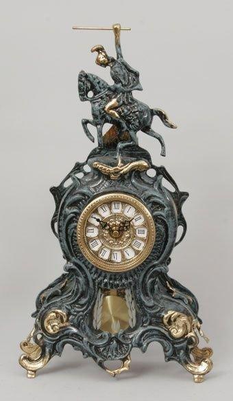 Часы каминные с маятником Virtus Всадник (арт. 5747)