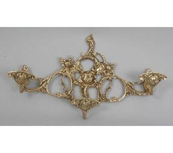Вешалка из бронзы Virtus 3 крючка (арт. 8415)