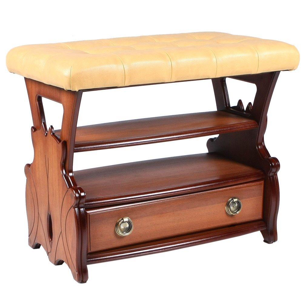 Такая удобная и красивая скамья станет украшением каждой прихожей и будет отличным подарком для друзей и знакомых