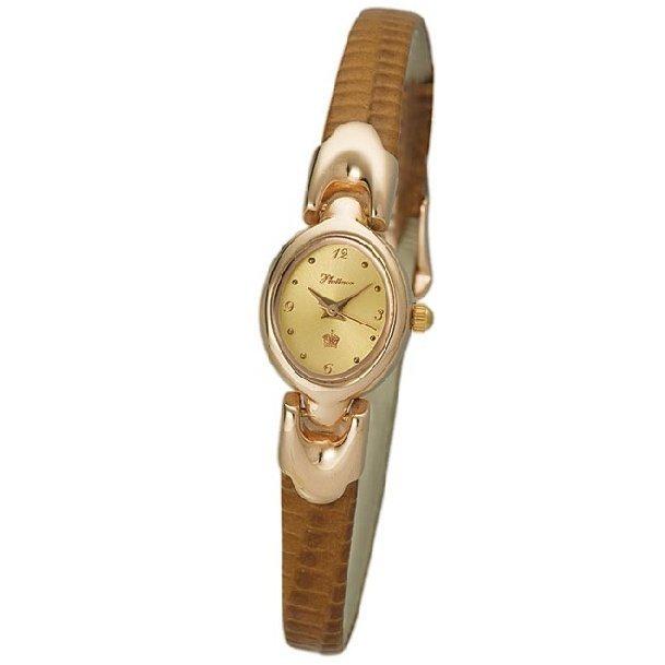 Наручные часы-скелетоны Орион (модель 20), позолоченные (НЕТ В