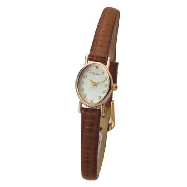 Женские золотые часы Platinor Александра