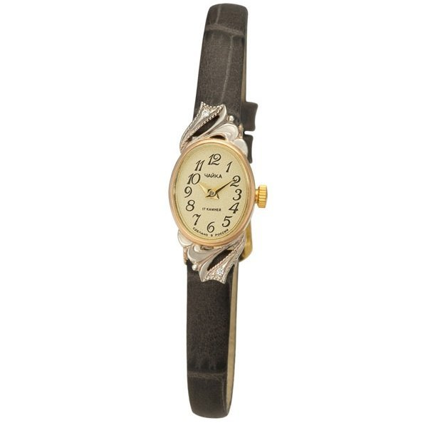 Золотые часы Platinor Чайка