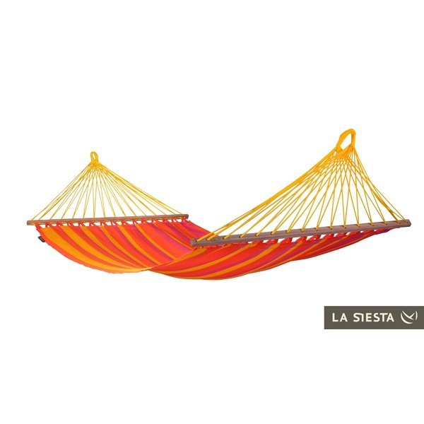 Гамак одноместный La Siesta Sonrisa Single Hammock Mandarine