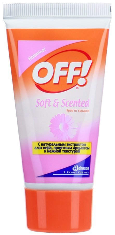OFF! крем от комаров Soft and Scented 50 мл
