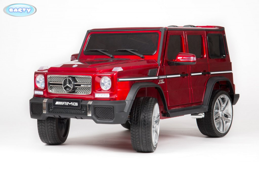 электромобиль barty mercedes benz g65 amg